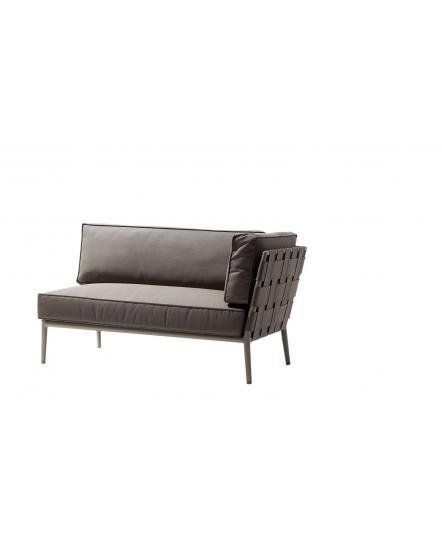 CONIC 2 Seater Sofa, left/right module