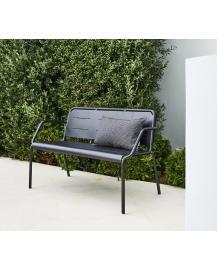 COPENHAGEN Bench, w/ armrest, stackable