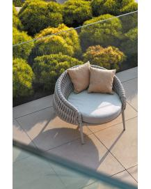 KALIFE Round Lounge Chair