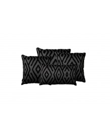 Kutti Charcoal Throw Pillow
