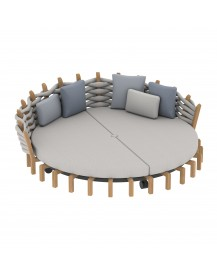 LOTUS Round Daybed