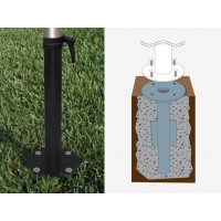 In-Ground Mount Kit for Libra