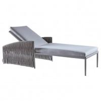 BASKET Adjustable chaise lounge