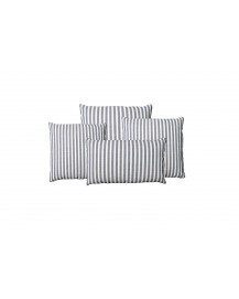 Henley Denim Throw Pillow