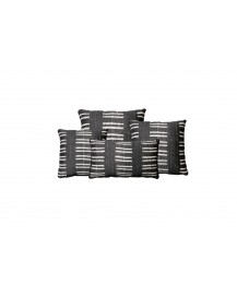 Watego Charcoal Throw Pillow
