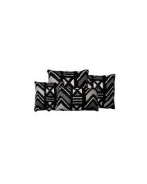Yarra Onyx Throw Pillow