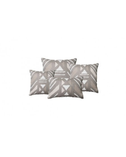 Yarra Sand Throw Pillow